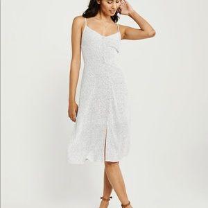 Abercrombie Button Up Midi Dress